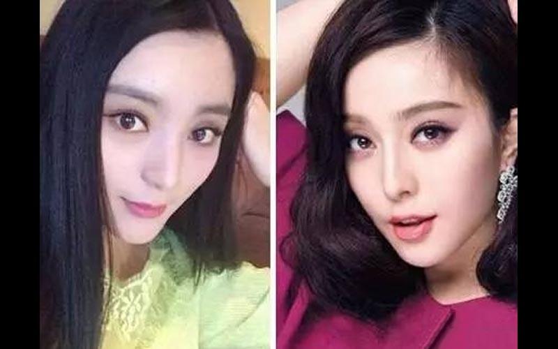 她是范冰冰的御用替身,比雙胞胎還像的她沒想到卸妝後竟然...這化妝功力強大啊!!!  -
