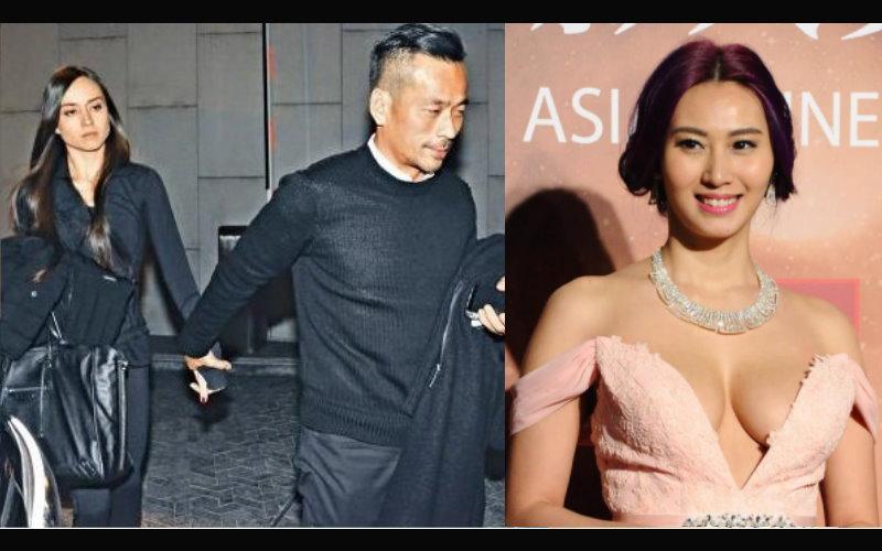 才半年還不到,號稱香港最強小三的大仁哥前女友就要被八字奶小四勁敵取代了?