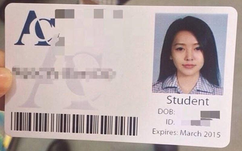 網友意外在越南撿到了這張「女神級別的學生證」,當本人來認領時.....天哪!  -