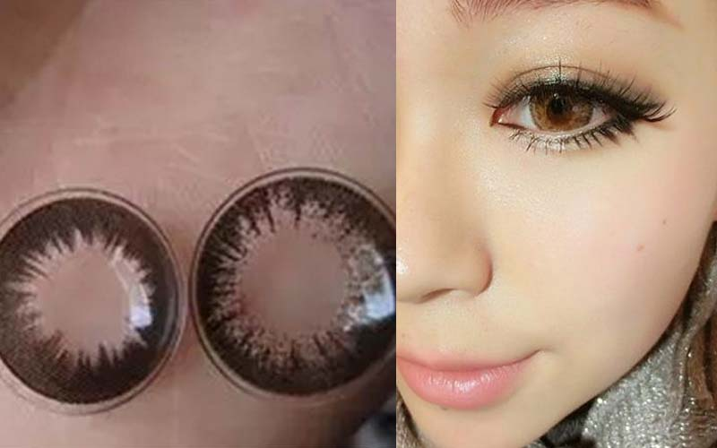 一名女孩不聽勸硬要買網路上來路不明的22MM超放大隱形眼鏡,結果卻讓她嘗到地獄般的苦頭!!