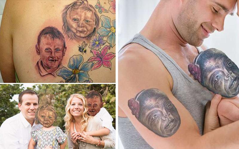 20個「超失敗刺青」如果套在本尊身上會是什麼樣畫面:這根本恐怖片!