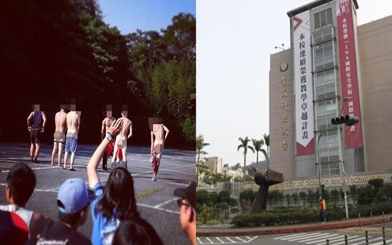 沒看錯真的在台灣!這次內衣褲全脫了..這間學校荒謬迎新「讓你登大人」:比夜店還瘋狂