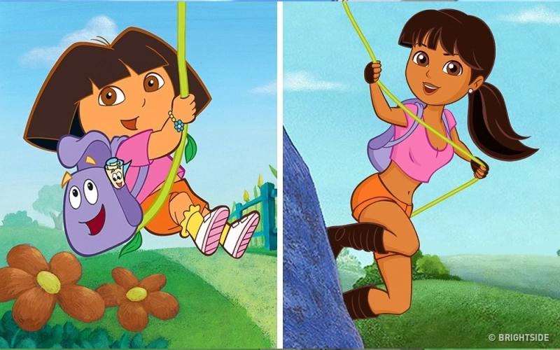 如果卡通裡的小孩長大了會變成什麼樣子?沒想到「小羅」長大後....