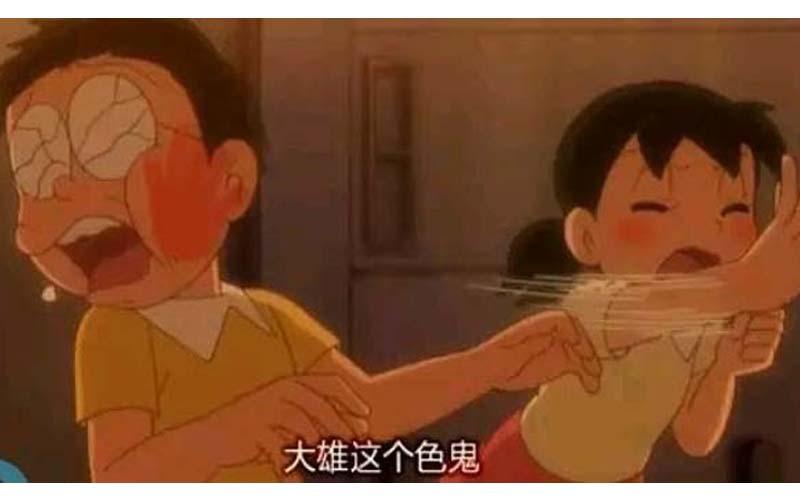 乾!童年完全毀壞!「如果大雄是個變態會怎樣?」四格漫畫讓哆啦A夢變得好工口!!