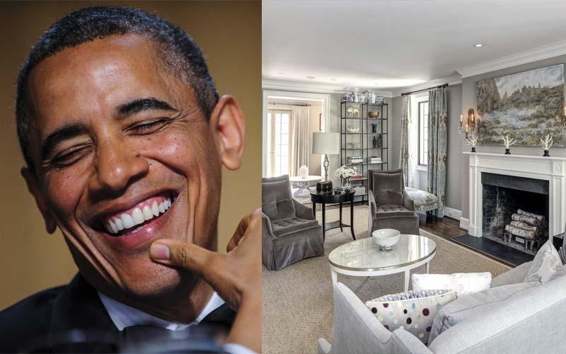 歐巴馬卸任後住的地方竟然比白宮還豪華啊!看到文末的房價更傻眼了!