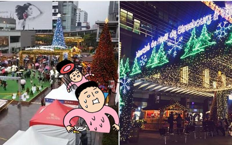 狂賣十萬張消費券的101法國聖誕市集「爛到嚇死人」?網友失望透頂:台灣夜市完勝!