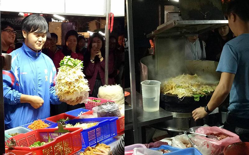 好猛!他分享「蒙古烤肉100%吃到飽」超強夾菜密技,一看網友全跪了:有神快拜!