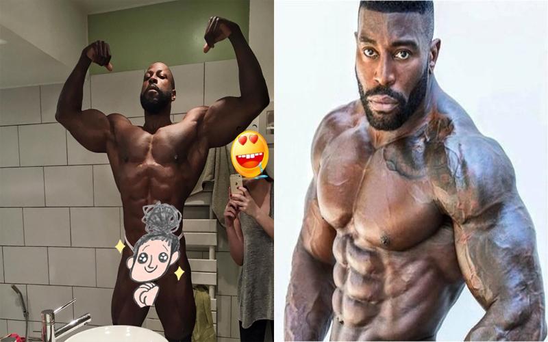 這名男子擁有史上最猛暴的筋肉身材!當你往下看絕對瞬間想跪...:連阿諾都自嘆不如啊