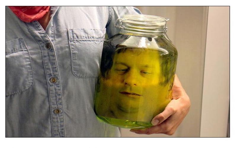 超驚悚「人頭罐」的製作過程原來是....!