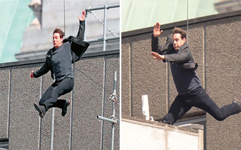 阿湯哥賣命拍《不可能的任務6》,「拒用替身」跳樓,結果下一秒...骨折受傷!