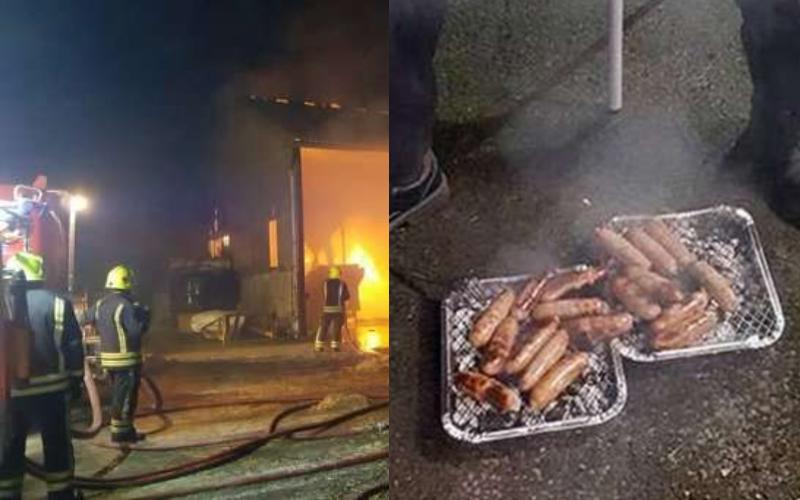 消防員衝進火場「冒死搶救小豬」半年後主人將牠們「灌成香腸」當作謝禮…