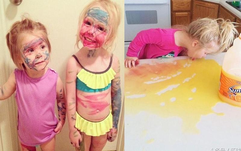 一系列照片讓你了解為人父母是一件多麼辛苦的事!