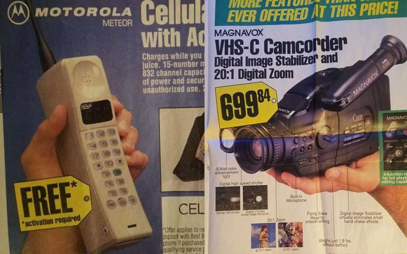 「1994年熱銷商品」的復古傳單,這些商品簡直是時代的眼淚阿...