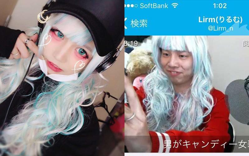 日本超正偽娘「豁出去直播卸妝」網友看完驚呆直呼:要去洗眼睛了!