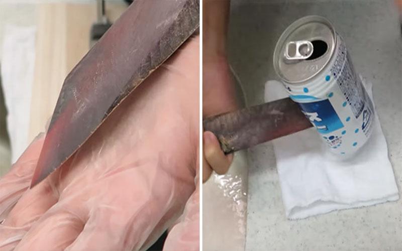 鰹魚乾加熱竟會變成「玄鐵匕首」!堅硬程度可以直接刺穿鋁罐!