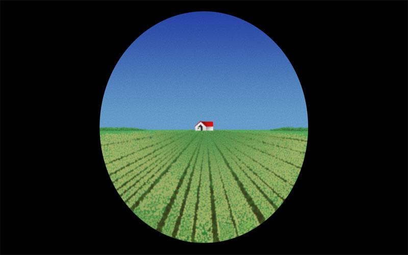 配眼鏡時驗光儀裡這張「農場圖片」用途揭密!突然看不清楚其實有重要功用!