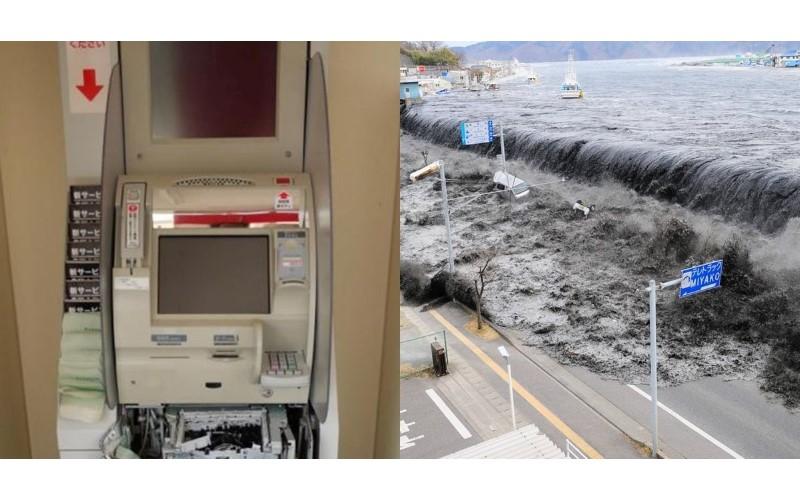 日本311七周年回顧…ATM太糟了!照片讓日網友笑不出:太垃圾!這就是人性!