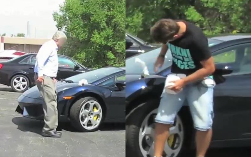 惡作劇踢鐵板!屁孩不爽被超車,假「拉屎在跑車上」車主的逆襲讓他們悔不當初!
