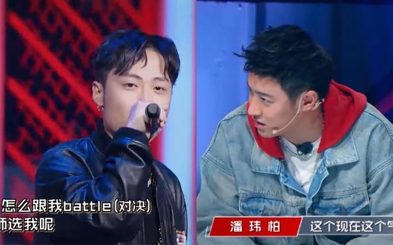 《中國新說唱》ICE挑女選手嗆「freestyle都不敢」  吳亦凡、潘瑋柏怒了