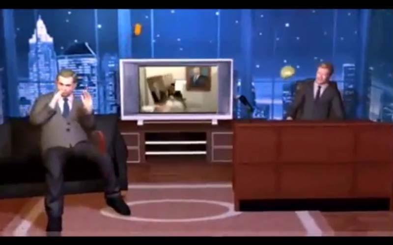 康納在節目上撥放低品質的動畫嗆台灣蘋果新聞的動畫,沒想到立刻被反擊!全場笑到不行!
