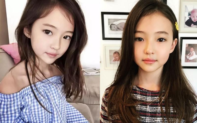 9歲小女孩號封「兒童界超模」!韓籍「超正媽媽」現身時網大讚:這基因果然好啊❤