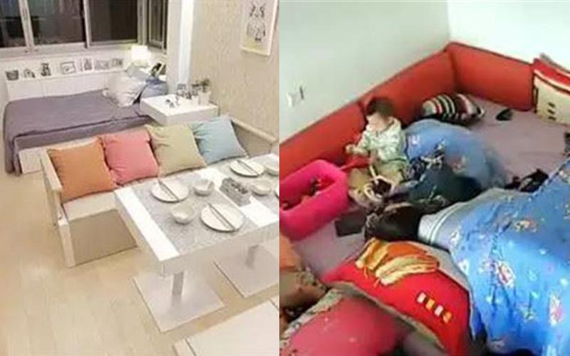 一家七口「同住13坪小屋」超擁擠!日本設計師神改造「6室1廳1廚1衛」成果美得不像話