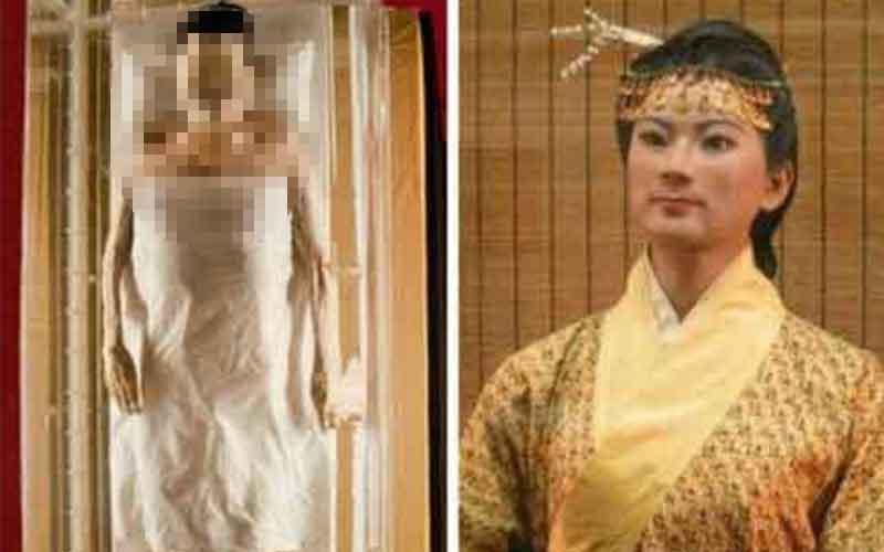 驚奇!!中國三大不腐女屍!乾隆最疼愛的女人竟美貌依舊...