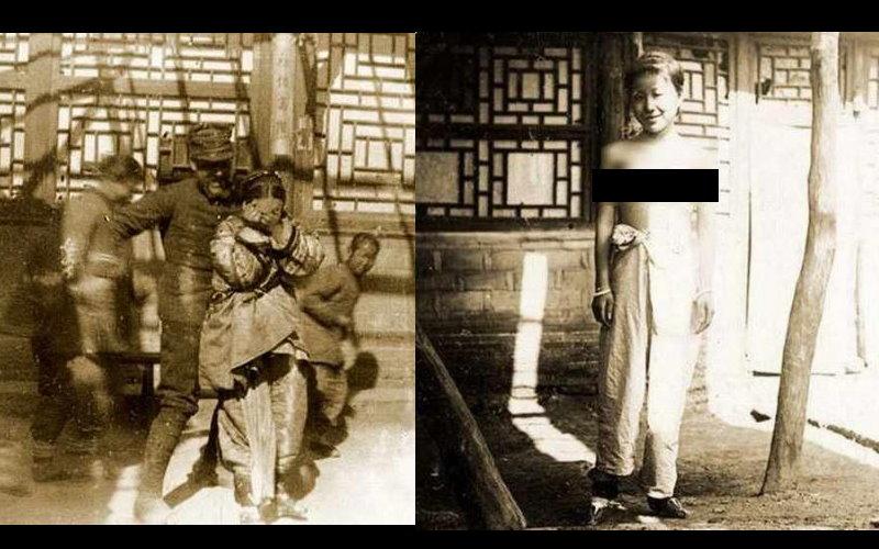 揭密八國聯軍侵入北京時舊照!女性被迫在街頭大玩羞辱Play、拍「上空照」!