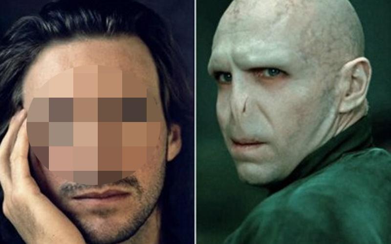 沒想到有鼻子的佛地魔這麼帥!一系列讓人驚呼「原來本人長這樣」的演員扮妝前後對比圖!