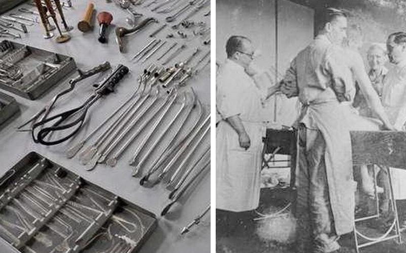 原來這些都是納粹集中營使用過的駭人刑具!現在我終於明白德國的刀具為何這麼耐用了...