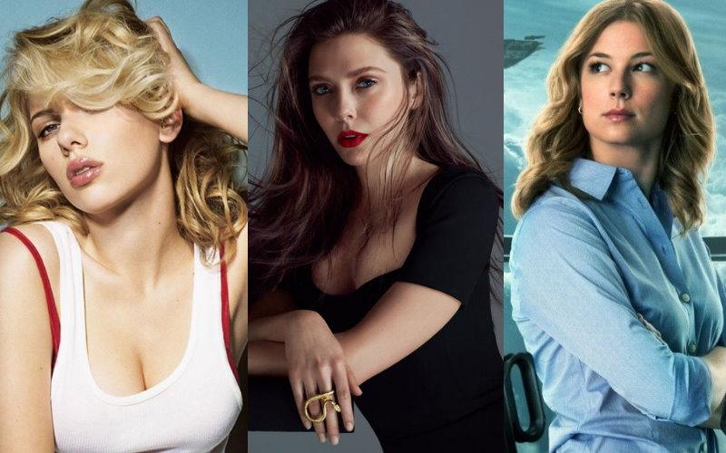 她們實在太養眼!《美國隊長3:英雄內戰》三大性感女英雄..你挺誰??