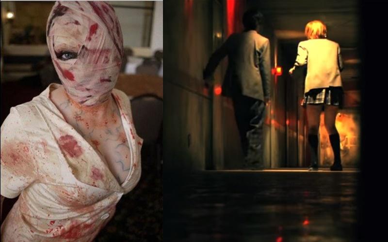 日本最大鬼屋尺度越來越無極限,鬼護士『低胸緊身迷你裙』讓人噴鼻血!