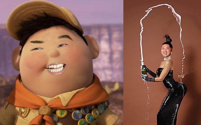 金正恩肖像照遭全球網友惡搞,為什麼最後一張會一點違和感都沒有呢XD!