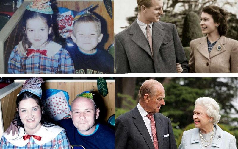 30張證明「真愛可以永恆」的感人往昔對比照片!