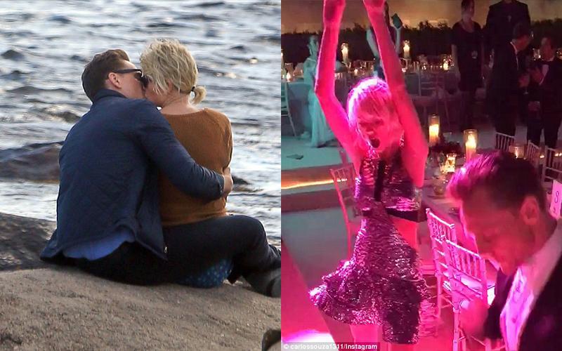 泰勒絲與「洛基」湯姆希德斯頓爆新戀情,狗仔直擊兩人沙灘熱吻:又一個無縫接軌!!前男友竟然還...