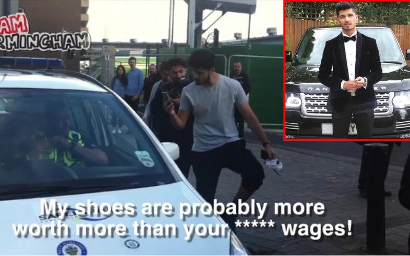 「我的鞋子比你薪水貴!」藍寶堅尼屁孩駕駛囂張嗆警!
