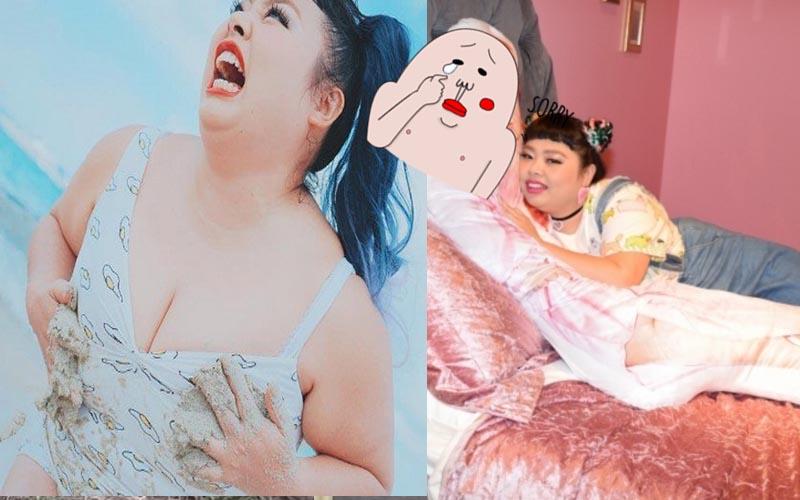 """體重破百的台日混血女模推出1比1人型抱枕,結果""""銷售量""""驚人!"""