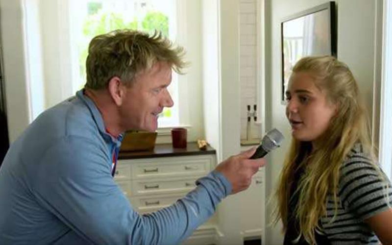 地獄廚神「戈登」追問12歲女兒「身為世界第一名廚的女兒是什麼感覺」,女兒一句犀利神回:她比她老爸還嗆!