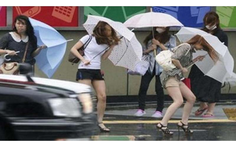 他好奇發文問「日本政府不放颱風假的原因?」看完後覺得日本人好辛苦啊!!