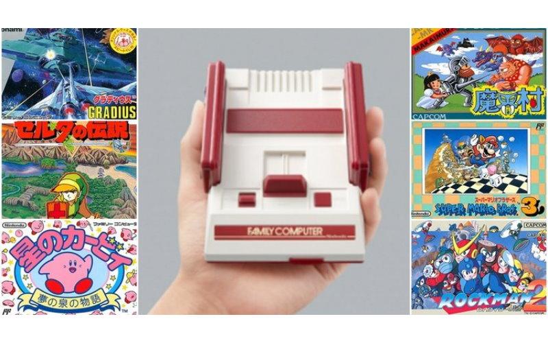 任天堂官方復刻推出「迷你紅白機」還內建了「30款經典遊戲」竟然還有HDMI啊!