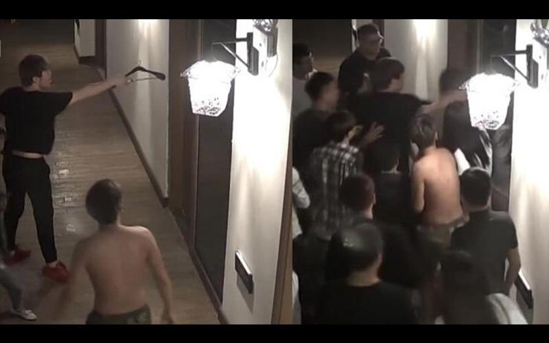 到底叫夠了沒?情侶飯店愛愛叫太大聲,到一半門竟然被一群男生踹開叫囂:這麼氣是因為沒炮打?!(圖+影)
