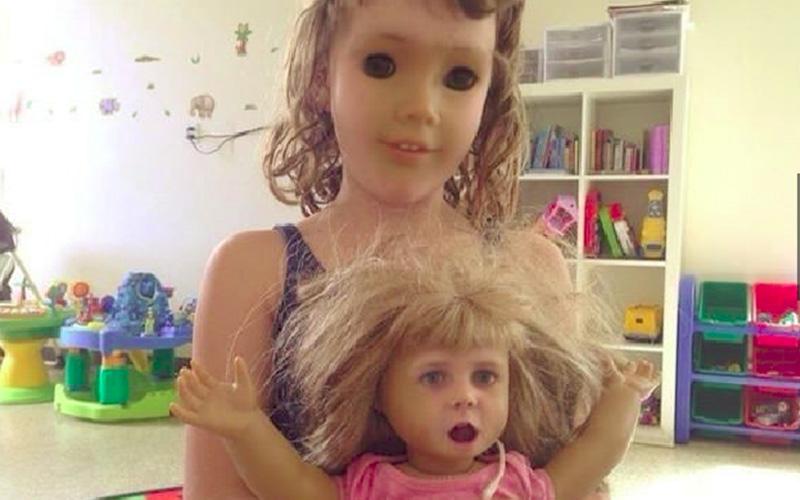 不要亂玩會出事!17個「玩到一半會被嚇尿」的超詭異換臉照片。