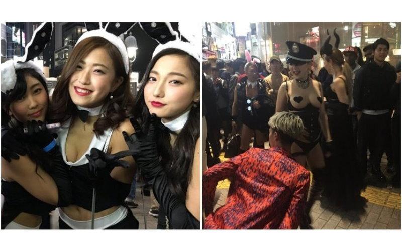 「澀谷」變「色谷」!日本萬聖節街上的妹子多到爆!各個裝扮超性感..快來我家搗蛋啊!