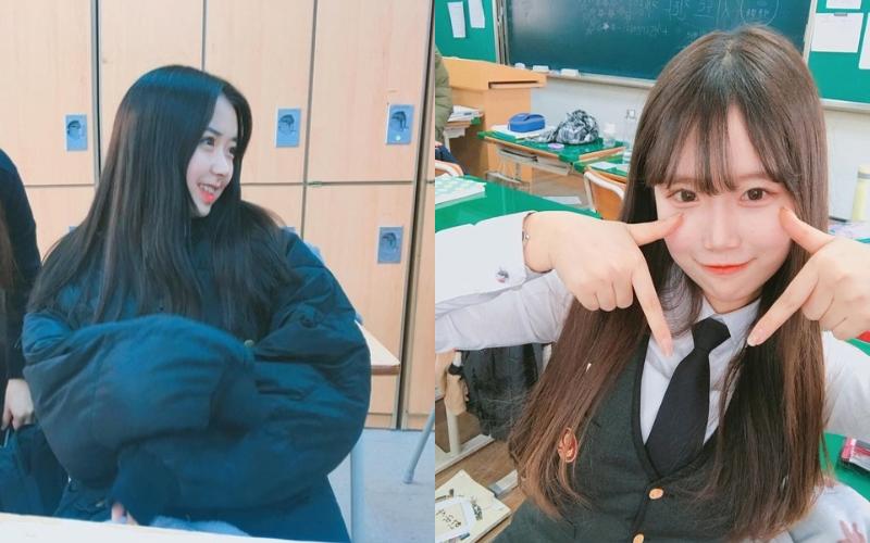 韓國女高生顏值與身材都直逼「模特兒等級」,隨便抓幾個都可以「組團出道」了!