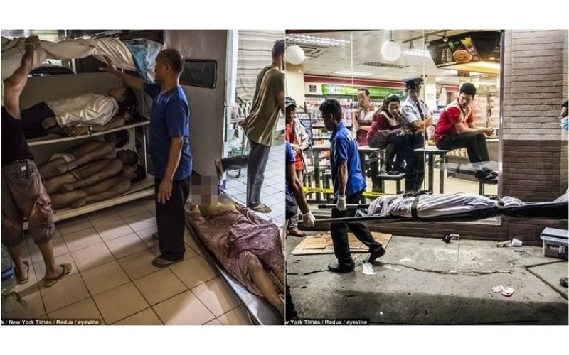 菲國總統屠殺破6000人的吸毒者!死亡照曝光:警方血洗街頭超猛烈