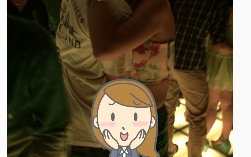 在夜店這樣摳摳摳對嗎?辣妹喝到恩災郎被摳摳哥親手玩弄海鮮!
