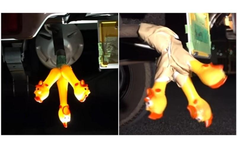 屌打改車屁孩!網友一次裝三隻「尖叫塑膠雞」在排氣管上..這音效87分不能再高了啊!(圖+影)