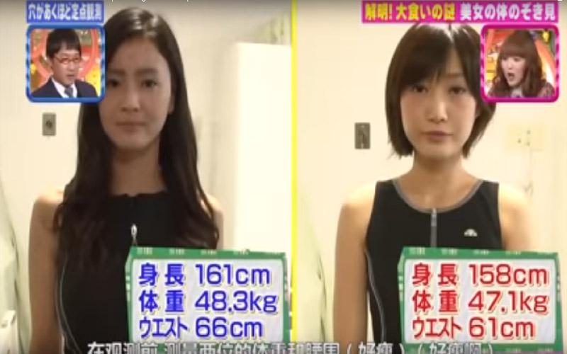 日本大胃王正妹「100貫壽司」一次吃下肚!醫生掃描他的肚子直接嚇歪!裡面居然... (圖+影)