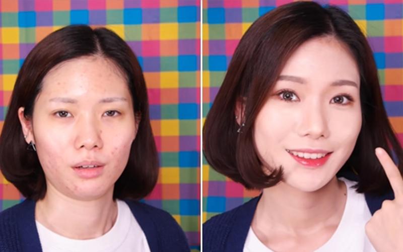 詐騙集團?!這個女生的化妝過程證明「韓國女生的好皮膚都是假的」,她們的膚質都是化出來的?!(圖+影)