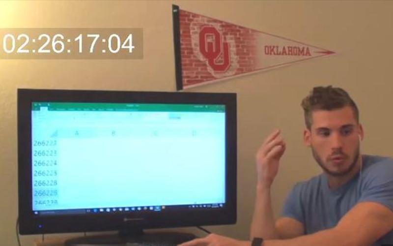 Excel表格到底有多少行?他花9小時挑戰找到「最底下一行」結果實在廢到笑阿!!(圖+影)